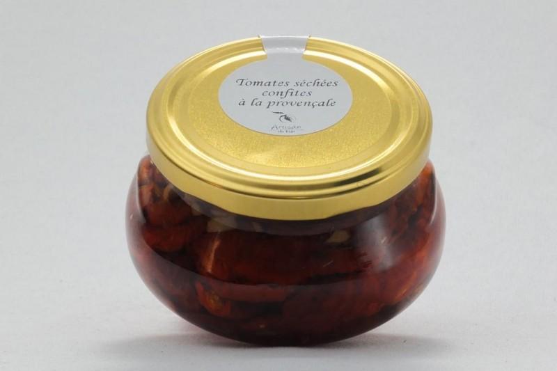 Tomates séchées confites à la provençale