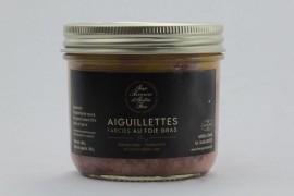 Aiguilettes farcies au foie gras (25%)