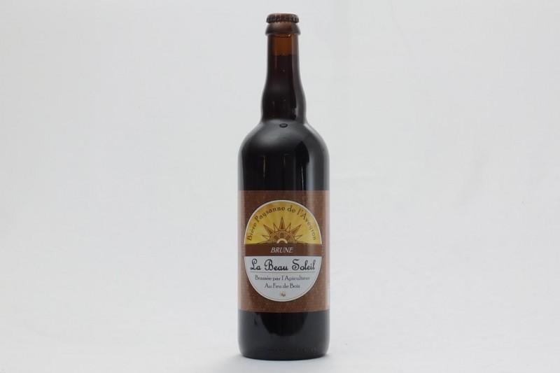 Bière La Brune - 75 cl