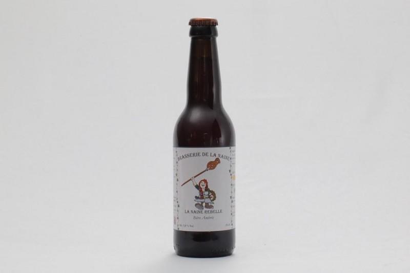 Bière La Naine Rebelle Bio - 33 cl