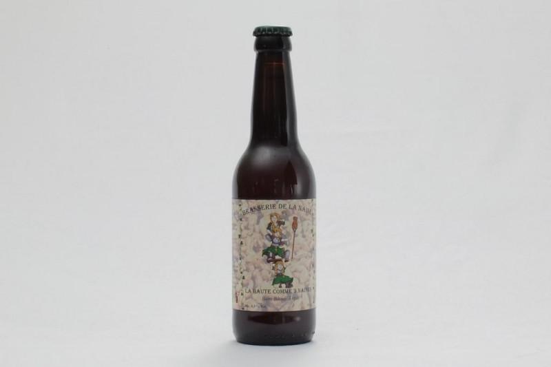 Bière La Haute comme 3 naines - 33 cl