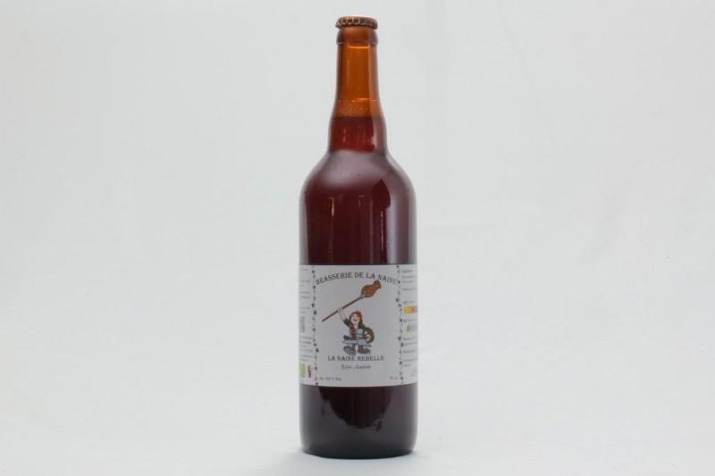 Bière La Naine Rebelle Bio - 75 cl