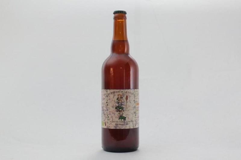 Bière La Haute comme 3 naines - 75 cl