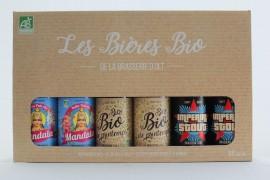 Coffret 6 Bières 33 cl Bio