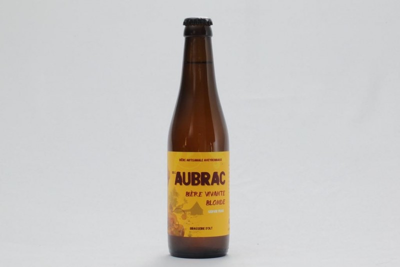Bière de l'Aubrac blonde - 33 cl