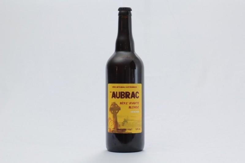Bière de l'Aubrac blonde - 75cl