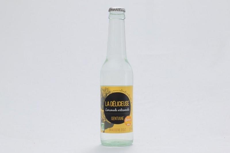 "Limonade Bio ""La Délicieuse"" Gentiane - 27,5 cl"