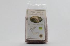 Riz long rouge complet Bio de Camargue - 500 g