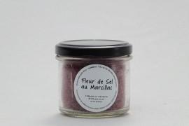 Fleur de sel de guérande au ratafia rouge