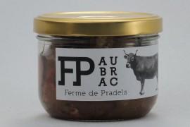 Mijoté de bœuf Aubrac aux cèpes et Marcillac