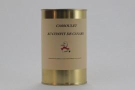 Cassoulet au confit de canard (2 pers)
