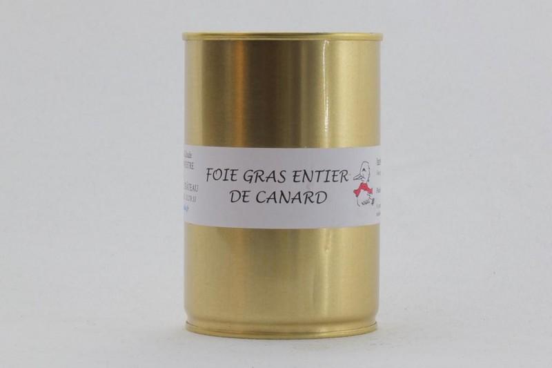 Foie gras de canard entier 400g