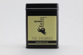 Thé d'Aubrac en feuilles boite métal 10g