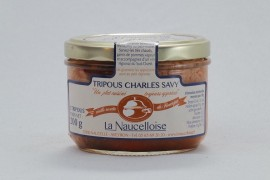 Bocal tripous Charles Savy 2 pièces