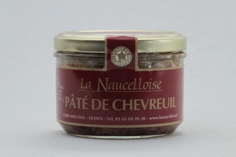 Verrine pâté de chevreuil