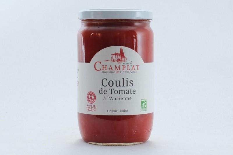 Coulis de tomates à l'ancienne Bio - 650 g