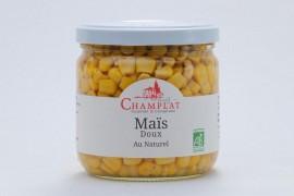 Maïs doux au naturel Bio