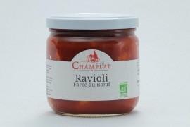 Raviolis farcis au bœuf Bio - 340 g