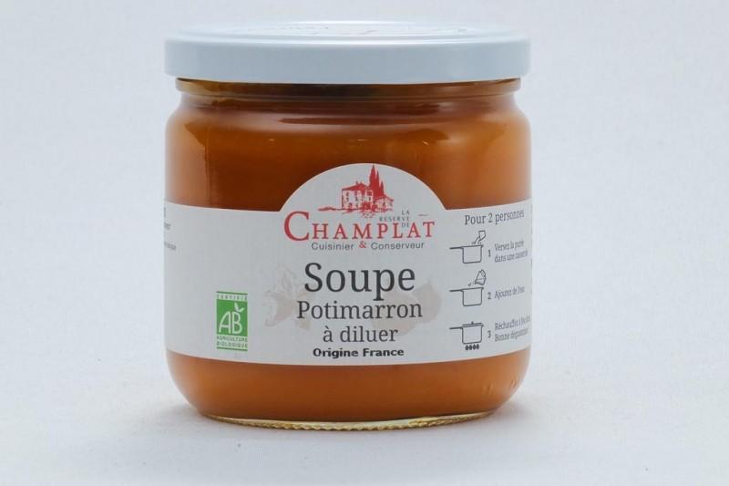 Soupe de Potimarron sans sel à diluer Bio