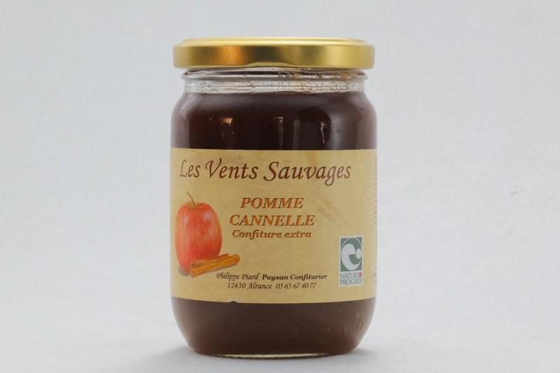 Confiture Pomme Cannelle Bio
