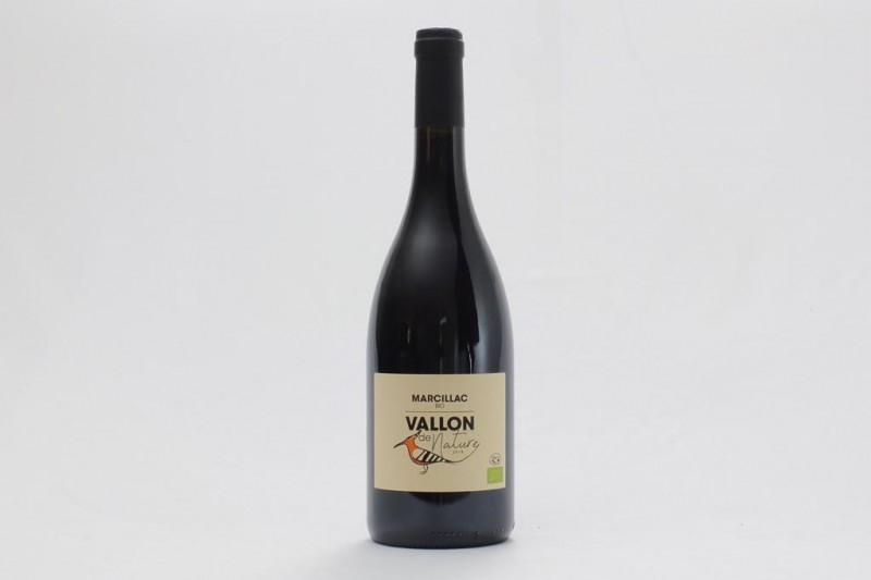 Vin Rouge Vallon de nature Bio AOC Marcillac