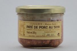 Pâté de Porc au Thym - 200 g