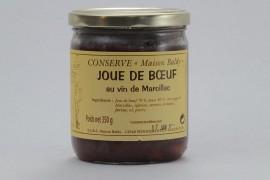 Joue de bœuf au vin de Marcillac - 350 g