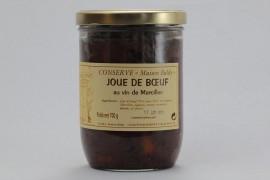 Joue de bœuf au vin de Marcillac - 700 g