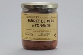 Jarret de Veau à l'Orange