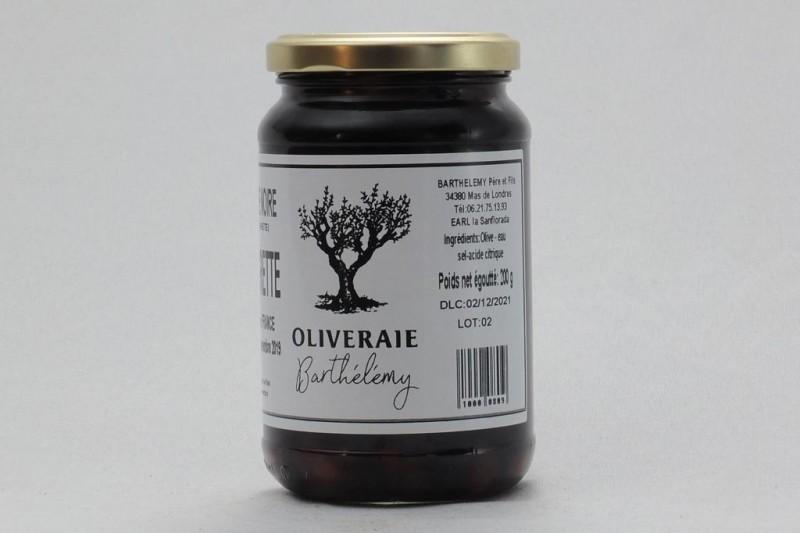Olives de table noires Negrettes