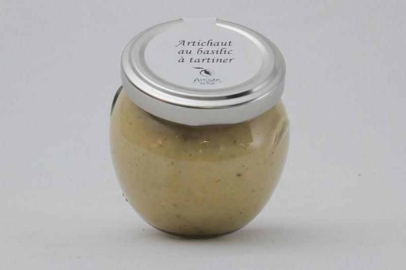 Tartinable apéritif Artichaut/Basilic