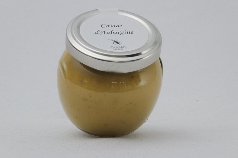 Tartinable apéritif Caviar d'aubergine