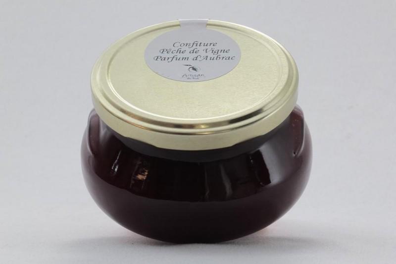 Confiture Pêche de Vigne parfum d'Aubrac