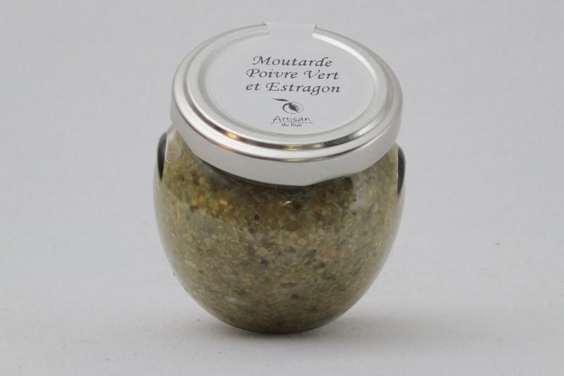 Moutarde Poivre Vert et Estragon