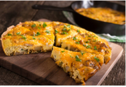 L'omelette girolles et aux mousserons